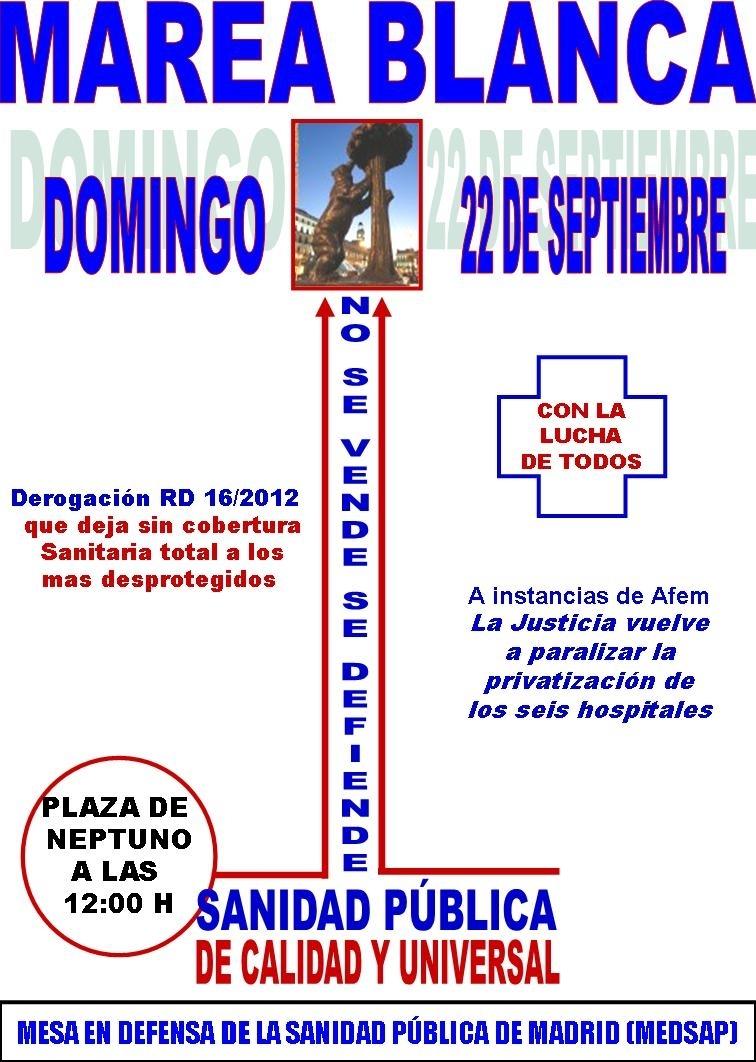 CARTEL MAREA BLANCA 22 SEPTIEMBRE-1