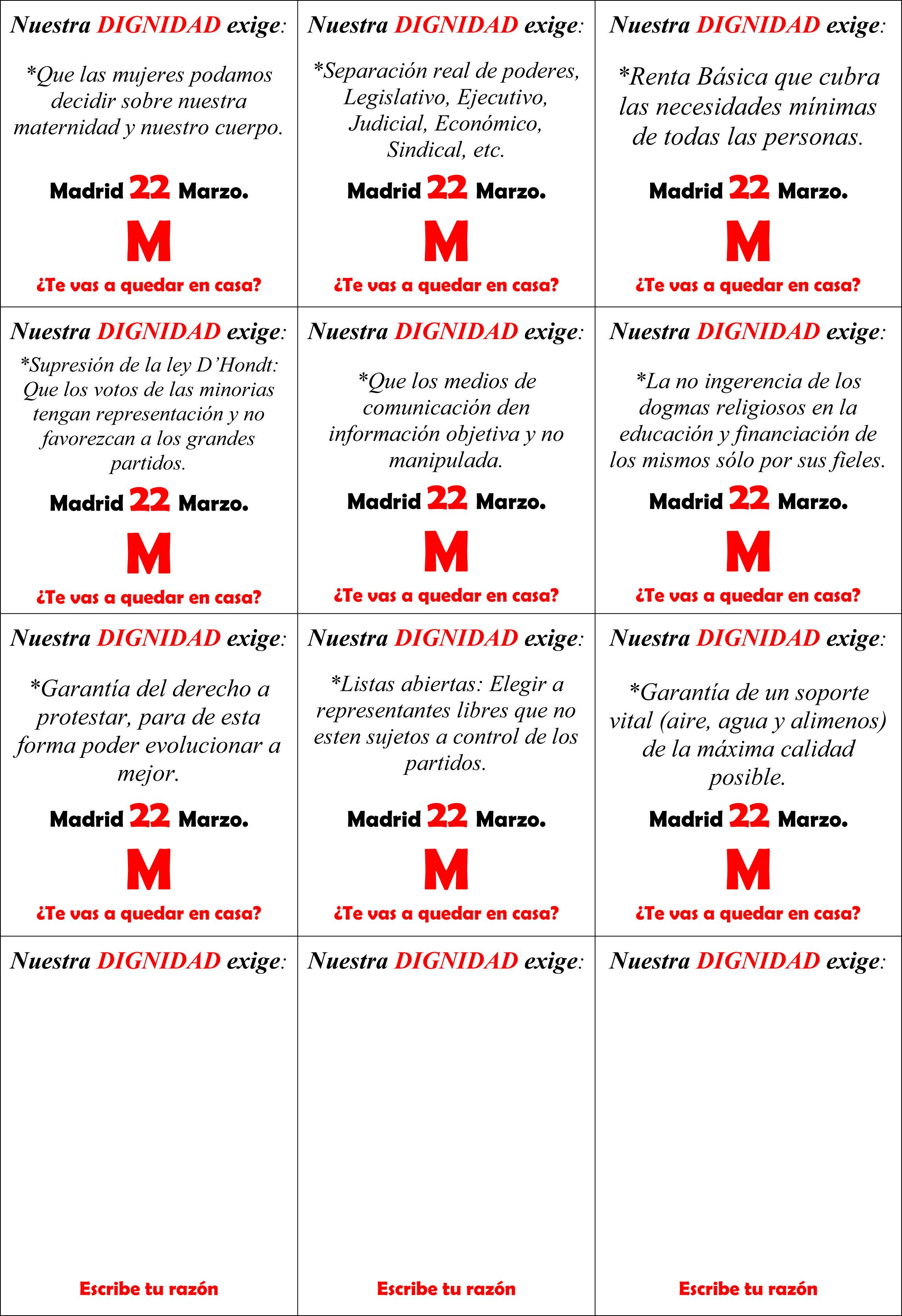 Pildoras y Convocatoria 14M- JPG 2
